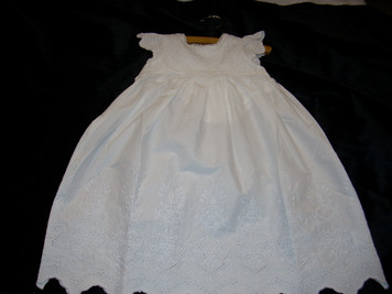 Christening Gown 2 piece 0-6 mp