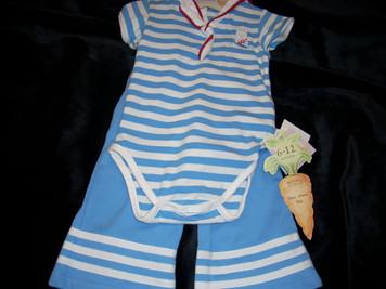 Baby Bud Sailor 2 Piece Set 6-12 mo