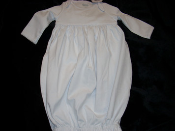 French Knot Cross Gown 0-3 mo