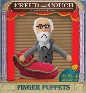 Freud and Couch Puppet Set