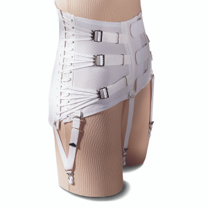 WOMEN'S LUMBOSACRAL SUPPORT CINCH-IT FRONT CLOSURE
