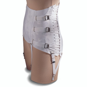 WOMEN'S LUMBOSACRAL SUPPORT FOR STRAIGHT HIP FIGURE