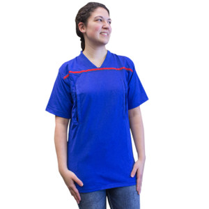 Scrub Top with High Pocket