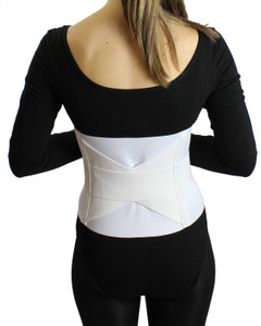 Economy Low-Profile Crisscross All Elastic Back and Tummy Support