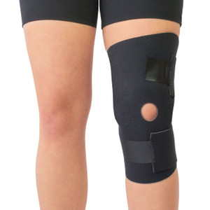 Moisture Wicking Open Patella Knee Wrap