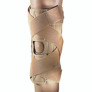 Neoprene Wraparound Crisscross Knee Support