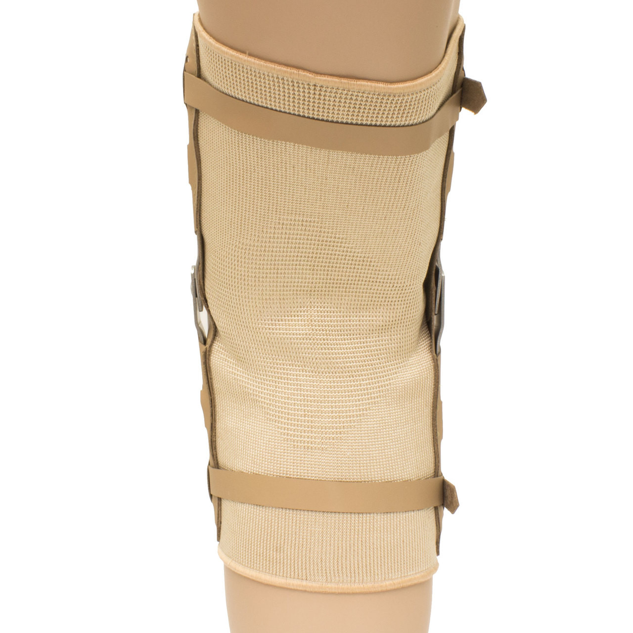 6e90cd01ac Plus Size Open Patella Laced Hinged Knee Brace. Larger / More Photos
