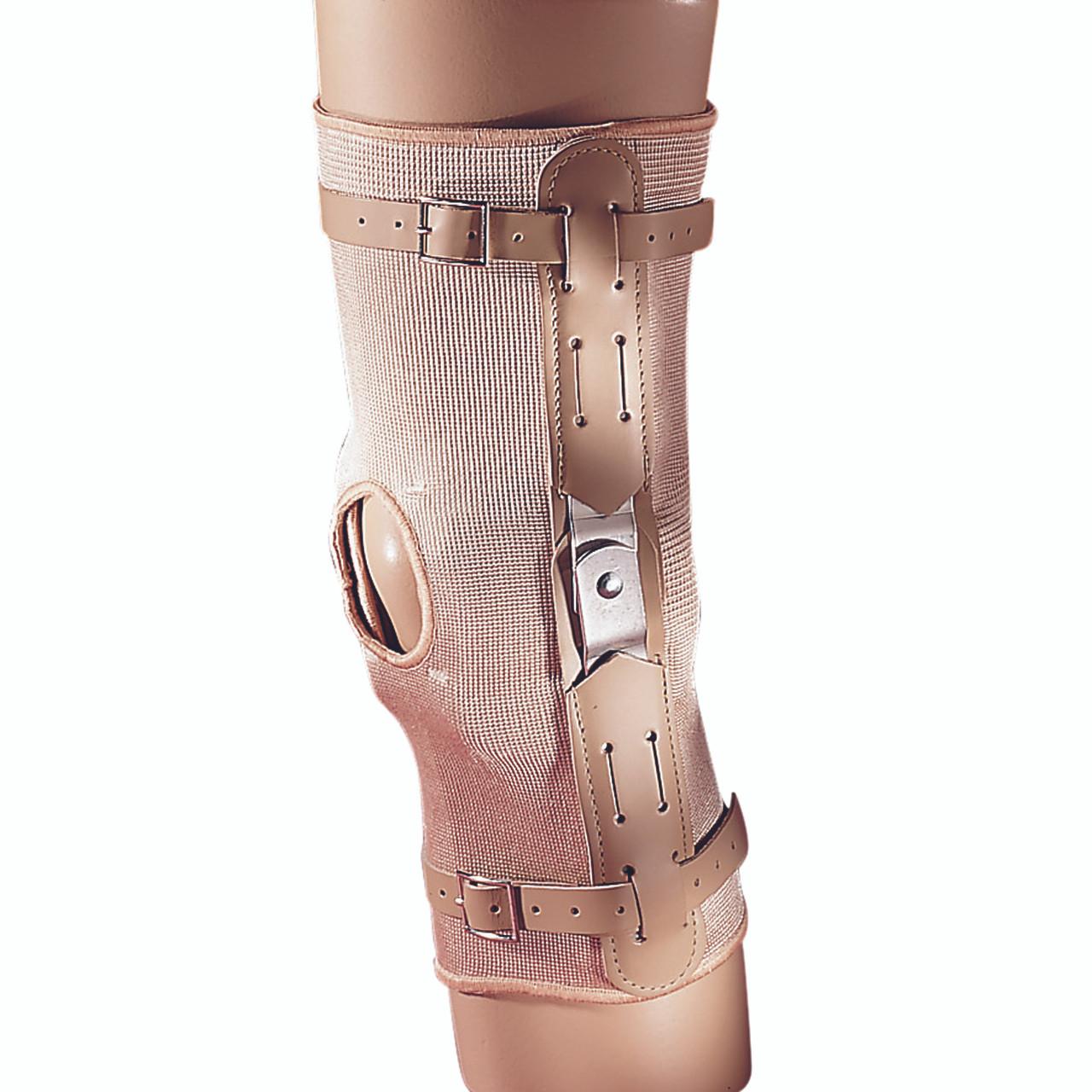 70b30d12c8 Elastic Stabilization Hinged Knee Brace w/Open Patella - Freeman Mfg Co.