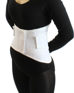 Elastic Wraparound Lumbosacral Support Lower Back Brace Slimming Belt