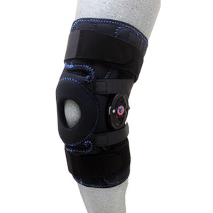 Dynamic Patella Stabilizer With Universal Shark Skin Buttress