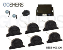 Blind Spot Detection System #BSDS-003306, for Small Bus, Box Truck and Commercial Fleets