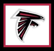 "Atlanta Falcons Logo Crochet Graph Afghan Pattern.  All done in single crochet, changing colors as you go along.  Drop one color, pull in the next.  Medium ability.  Size works up to be approx. 50 x 70"".  Graph is 100 stitches wide by 140 stitches high.  Then you crochet 22 rows around the outside edge including a border, if you would like it larger.  Complete instructions are included, a full size graph, and a Helpful Hints page. DOWNLOADABLE"