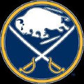 "Buffalo Sabres Logo Crochet Graph Afghan Pattern.  All done in single crochet, changing colors as you go along.  Drop one color, pull in the next.  Medium ability.  Size works up to be approx. 50 x 70"".  Graph is 104 stitches wide by 144 stitches high.  Then you crochet 22 rows around the outside edge including a border, if you would like it larger.  Complete instructions are included, a full size graph, and a Helpful Hints page. DOWNLOADABLE WITH ORDER CONFIRMATION OR EMAIL ME IF YOU WANT IT MAILED TO YOU."