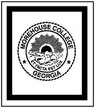 """Morehouse College Crochet Afghan Graph Pattern.  All done in single crochet, changing colors as you go along.  Drop one color, pull in the next.  Medium ability.  Size works up to be approx. 80 x 100"""".  Graph is 204 stitches wide by 206 stitches high.  Then you crochet 22 rows (or more) around the outside edge including a border.  Complete instructions are included, a full size graph, and a Helpful Hints page."""