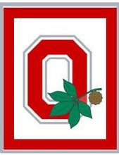 "Ohio State Buckeyes O Leaf Crochet Afghan Graph Pattern.  All done in single crochet, changing colors as you go along.  Drop one color, pull in the next.  Medium ability.  Size works up to be approx. 50 x 70"".  Graph is 100 stitches wide by 140 stitches high.  Then you crochet 22 rows (or more) around the outside edge including a border.  Complete instructions are included, a full size graph, and a Helpful Hints page. DOWNLOAD will be emailed to you within your Order Confirmation within 20 minutes.  Enjoy!"