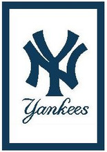 "New York Yankees Logo Crochet Graph Afghan Pattern.  All done in single crochet, changing colors as you go along.  Drop one color, pull in the next.  Medium ability.  Size works up to be approx. 50 x 60"".  Graph is 100 stitches wide by 140 stitches high, then you add 22 more rows around the outside edge to make it larger.   Complete instructions are included, a full size graph, and a Helpful Hints page. DOWNLOAD WILL COME TO YOU WITHIN THE ORDER CONFIRMATION IN ABOUT 20 MINUTES.  IF YOU'D RATHER HAVE IT MAILED TO YOU, LET ME KNOW. ENJOY!"