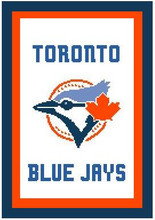 "Toronto Blue Jays Crochet Afghan Graph Pattern.  All done in single crochet, changing colors as you go along.  Drop one color, pull in the next.  Medium ability.  Size works up to be approx. 50 x 70"".  Graph is 100 stitches wide by 140 stitches high.  Then you crochet 22 rows (or more) around the outside edge including a border.  Complete instructions are included, a full size graph, and a Helpful Hints page. DOWNLOAD WILL BE SENT TO YOU WITHIN 20 MINUTES OF ORDER, JUST CLICK ""DOWNLOAD FILES"". Enjoy!"