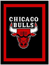 "Chicago Bulls Crochet Afghan Graph Pattern.  All done in single crochet, changing colors as you go along.  Drop one color, pull in the next.  Medium ability.  Size works up to be approx. 50 x 70"".  Graph is 100 stitches wide by 140 stitches high.  Then you crochet 22 rows (or more) around the outside edge including a border.  Complete instructions are included, a full size graph, and a Helpful Hints page. DOWNLOAD WILL BE EMAILED TO YOU INSIDE YOUR ORDER CONFIRMATION.  Just click ""Download Files"" and Enjoy!"