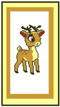 "Deer with Horns Crochet Afghan Graph Pattern.  All done in single crochet, changing colors as you go along.  Drop one color, pull in the next.  Medium ability.  Size works up to be approx. 40 x 60"".  Graph is 64 stitches wide by 104 stitches high.  Then you crochet 22 rows (or more) around the outside edge including a border.  Complete instructions are included, a full size graph, and a Helpful Hints page. DOWNLOAD WILL BE EMAILED TO YOU WITHIN 20 MINUTES OF PLACING ORDER.  Just click ""Download Files"" on your Order Confirmation.   Enjoy!"