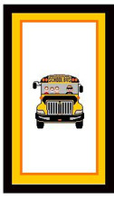 "School Bus Crochet Afghan Graph Pattern.  All done in single crochet, changing colors as you go along.  Drop one color, pull in the next.  Medium ability.  Size works up to be approx. 50 x 70"".  Graph is 100 stitches wide by 140 stitches high.  Then you crochet 22 rows (or more) around the outside edge including a border.  Complete instructions are included,  full size graph, and a Helpful Hints page.  The DOWNLOAD WILL COME TO YOU IN THE CONFIRMATION EMAIL within 20 minutes of completing the order.  Just click on ""Download Files"".  Enjoy!"