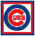 "Chicago Cubs Logo Crochet PILLOW Pattern.  All done in single crochet, changing colors as you go along.  Drop one color, pull in the next.  Medium ability.  Size works up to be approx.18X18"".  Graph is 60 stitches wide by 60 stitches high.  Then you crochet a border around the outside edge; and crochet a solid back OR cut a square of Polar Fleece for backside.  Complete instructions are included, a full size graph, and a Helpful Hints page (3 pages). DOWNLOADABLE WITH ORDER CONFIRMATION. Just click ""Download Files"" and Enjoy!"