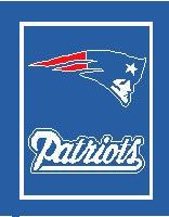 "New England Patriots Crochet Graph Afghan Pattern.  All done in single crochet, changing colors as you go along.  Drop one color, pull in the next.  Medium ability.  Size works up to be approx. 50 x 70"".  Graph is 116 stitches wide by 156 stitches high.  Then you crochet 22 rows around the outside edge including a border, if you would like it larger.  Complete instructions are included, a full size graph, and a Helpful Hints page. DOWNLOAD WILL BE EMAILED TO YOU WITHIN 20 MINUTES. ENJOY!"