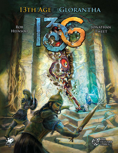 13th Age Glorantha Cover
