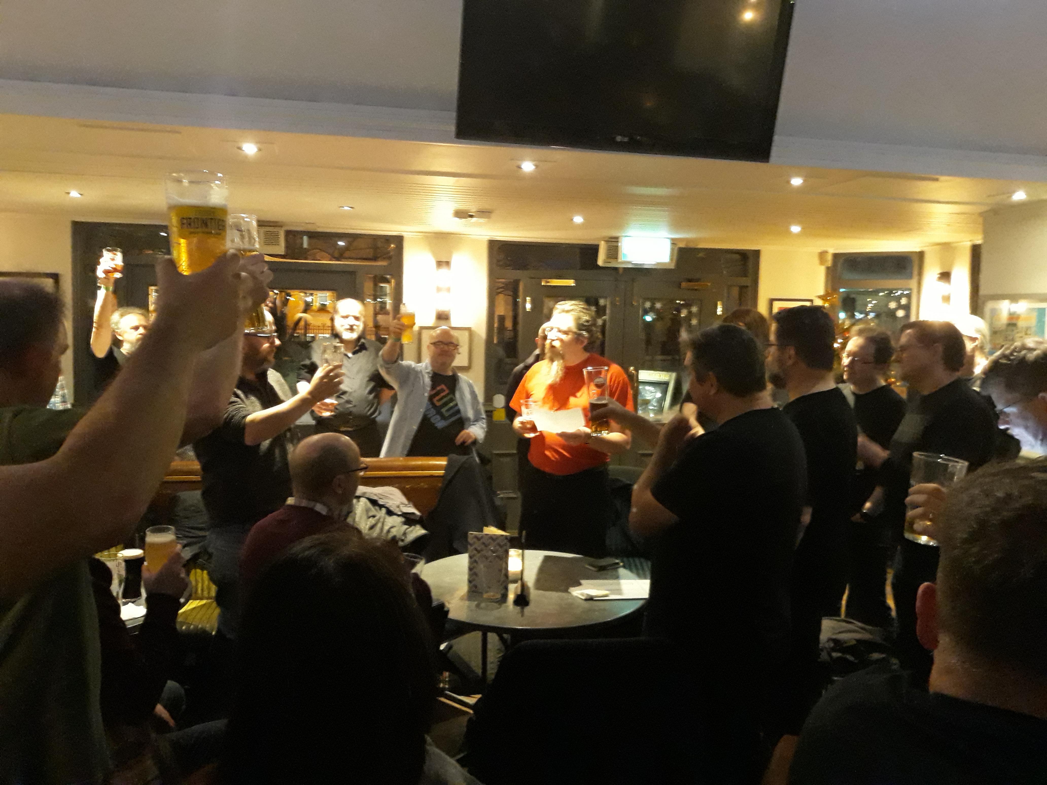 Eulogy for Greg at Tribal meet-up, UK 2018