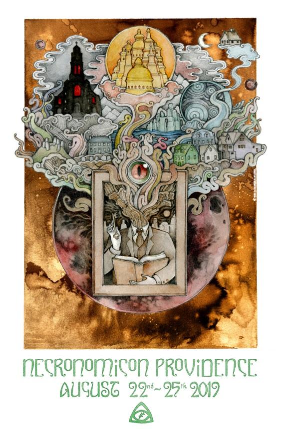 Necronomicon Providence Poster 2019