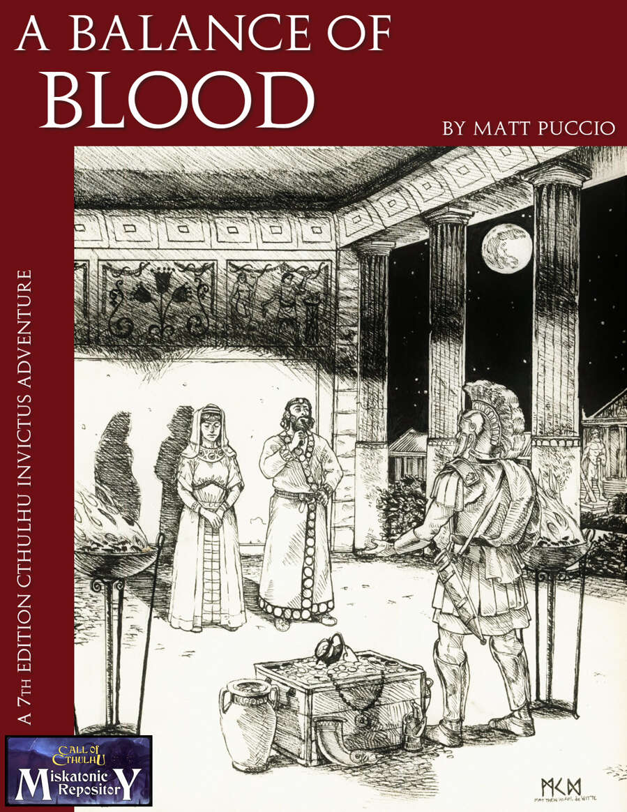 A Balance of Blood - Miskatonic Repository