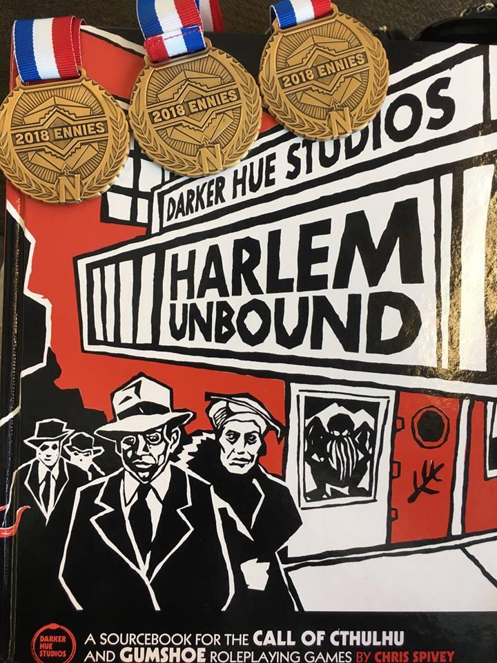 Harlem Unbound ENnies Winner