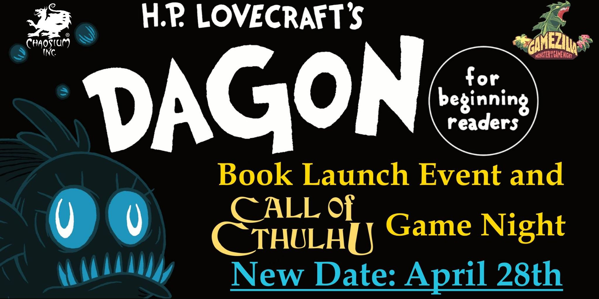 Dagon Launch - Melbourne, Australia April 28th