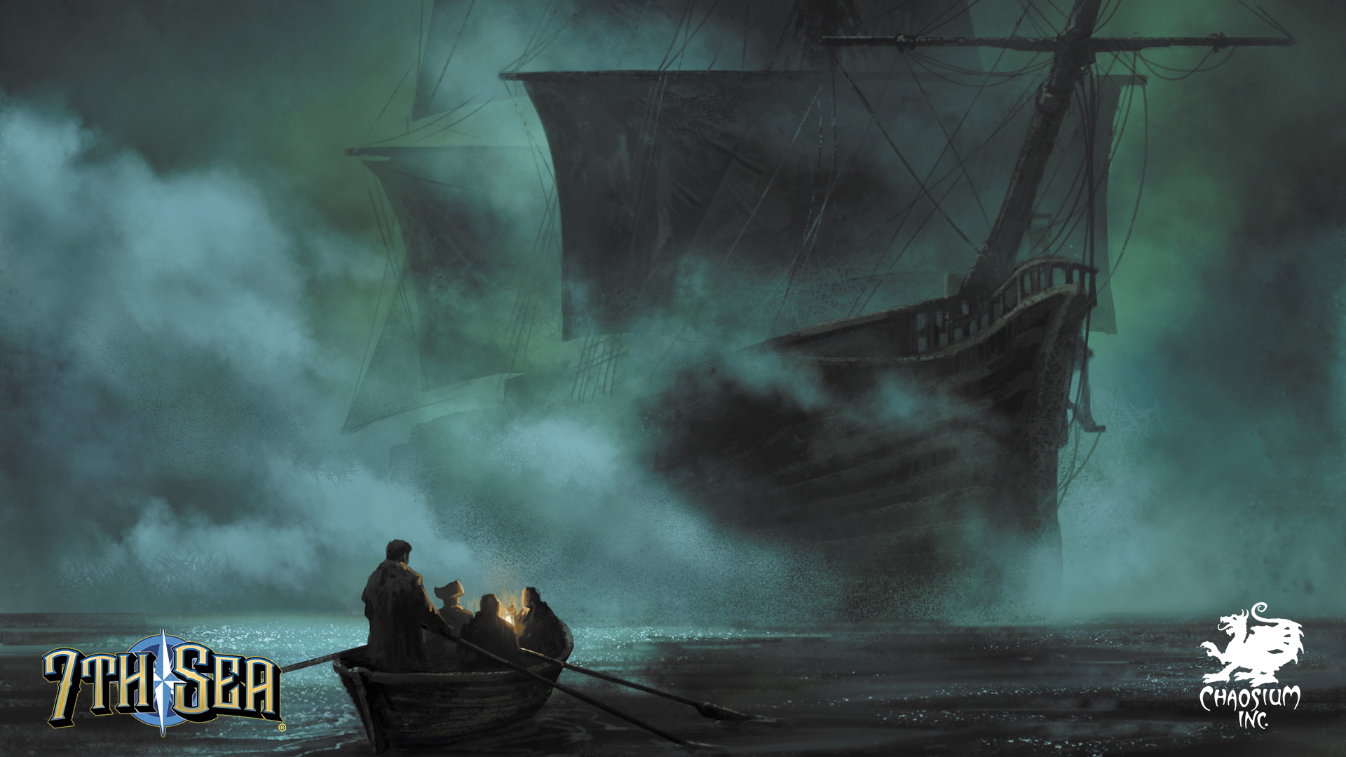 7th Sea Background - Nighttime Row