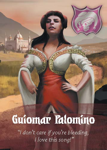 Deck of Villains - Guiomar