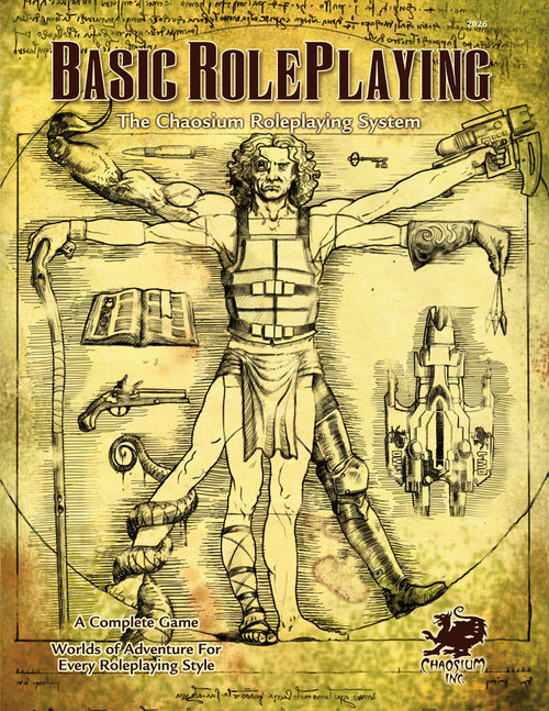 The BGB 'Big Gold Book' Basic Roleplaying