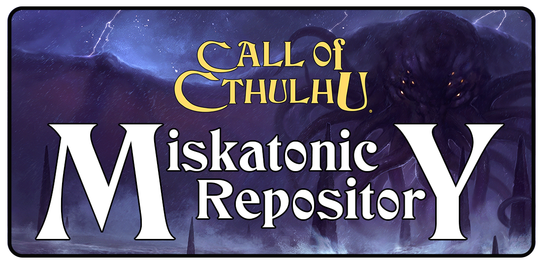 Miskatonic Repository Logo
