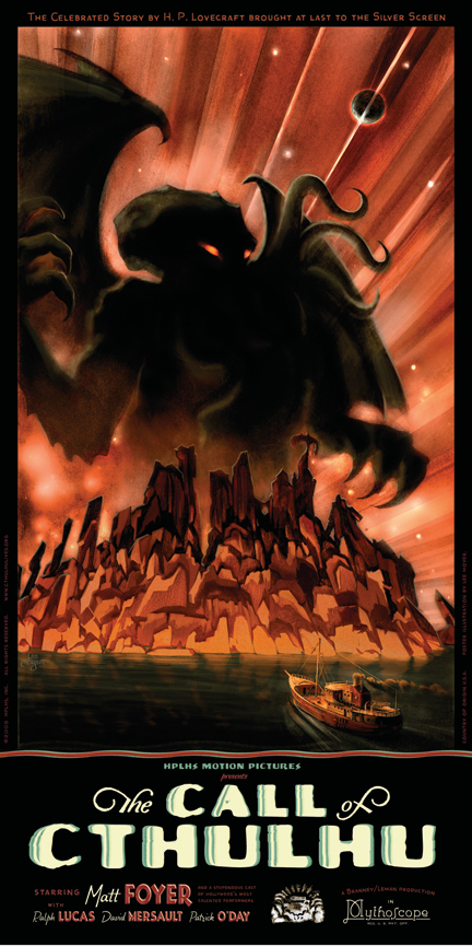 The Call of Cthulhu Poster HPLHS
