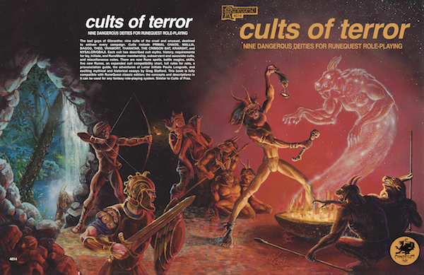 Cults of Terror - Jennell Jaquays
