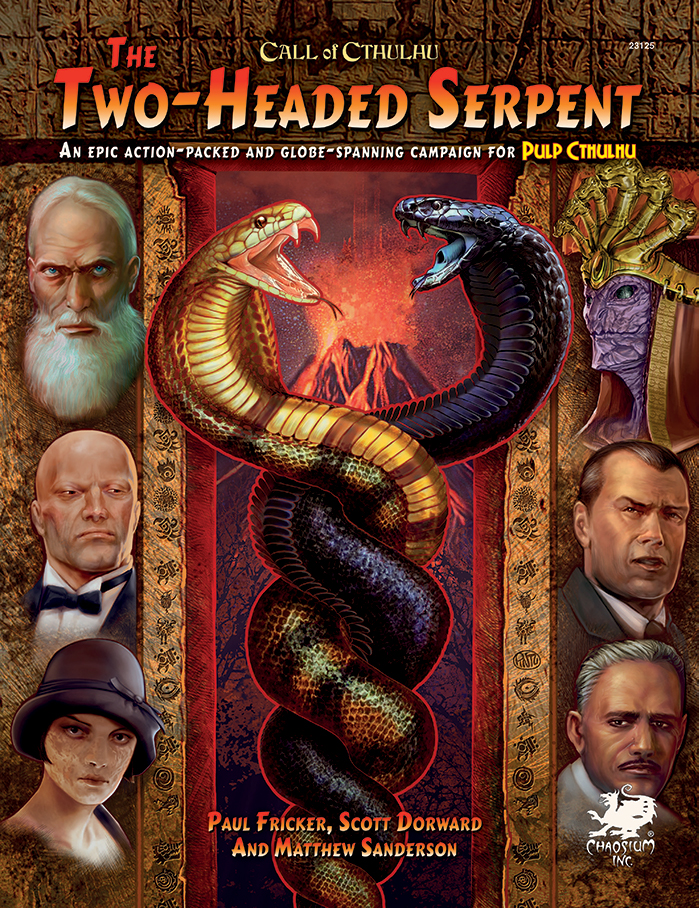 The Two-Headed Serpent - Front Cover