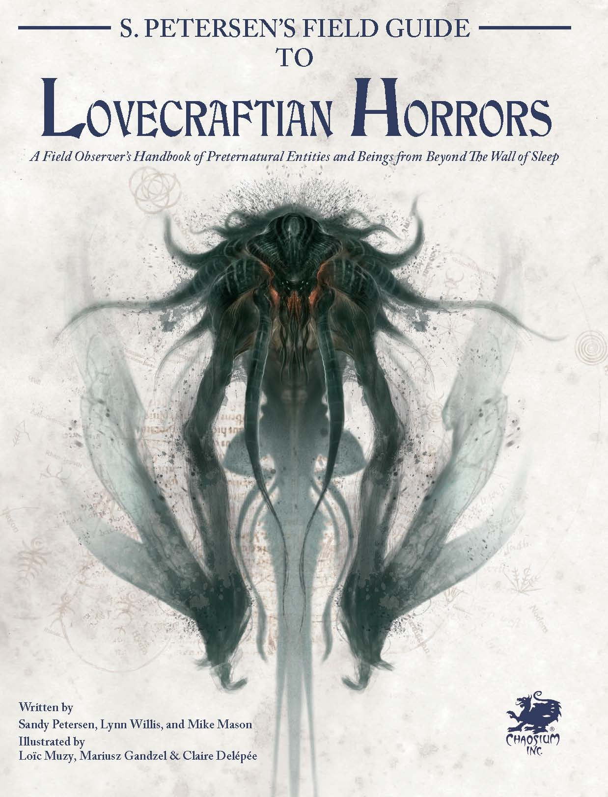 S. Petersen's Field Guide to Lovecraftian Horror - Front Cover
