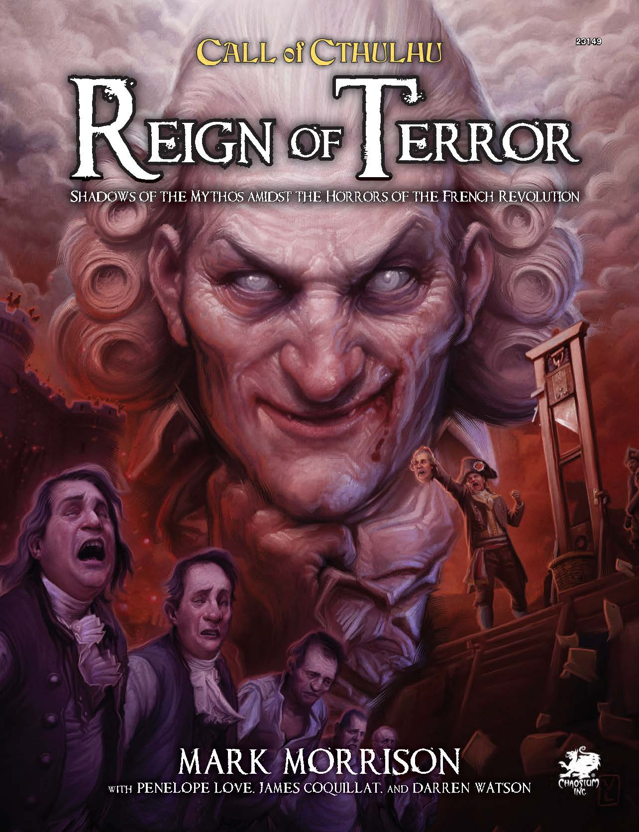 Reign of Terror - Front Cover