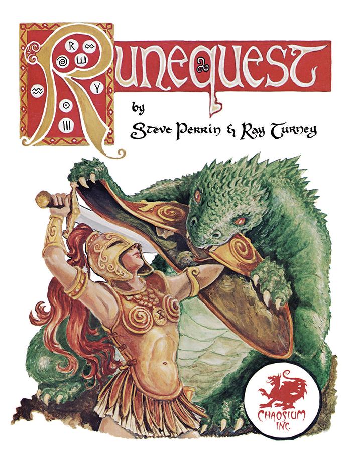 RuneQuest Classic - Front Cover