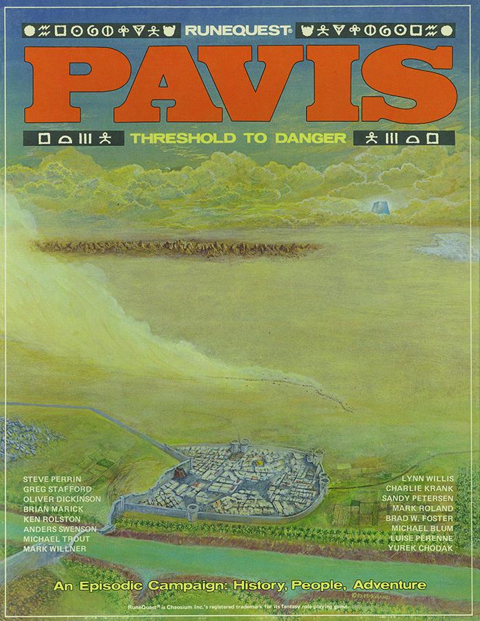 Pavis Front Cover