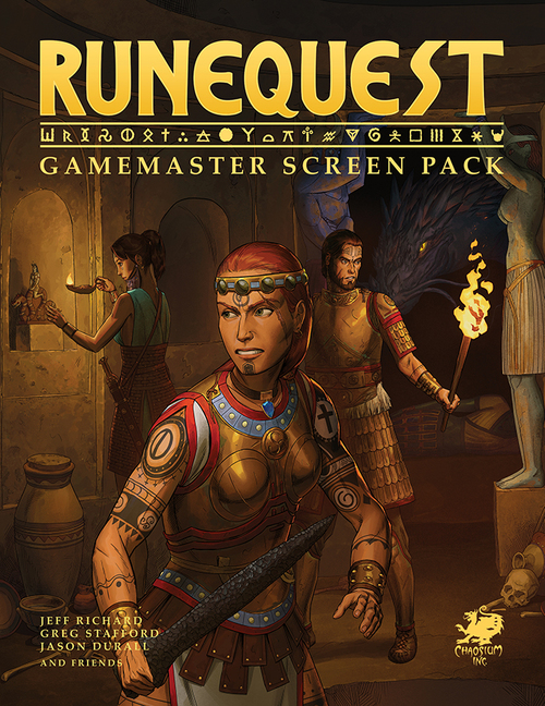 RQG Gamemaster Screen Pack Cover