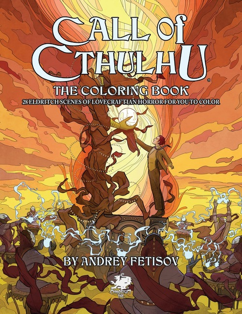 Call of Cthulhu the Coloring Book