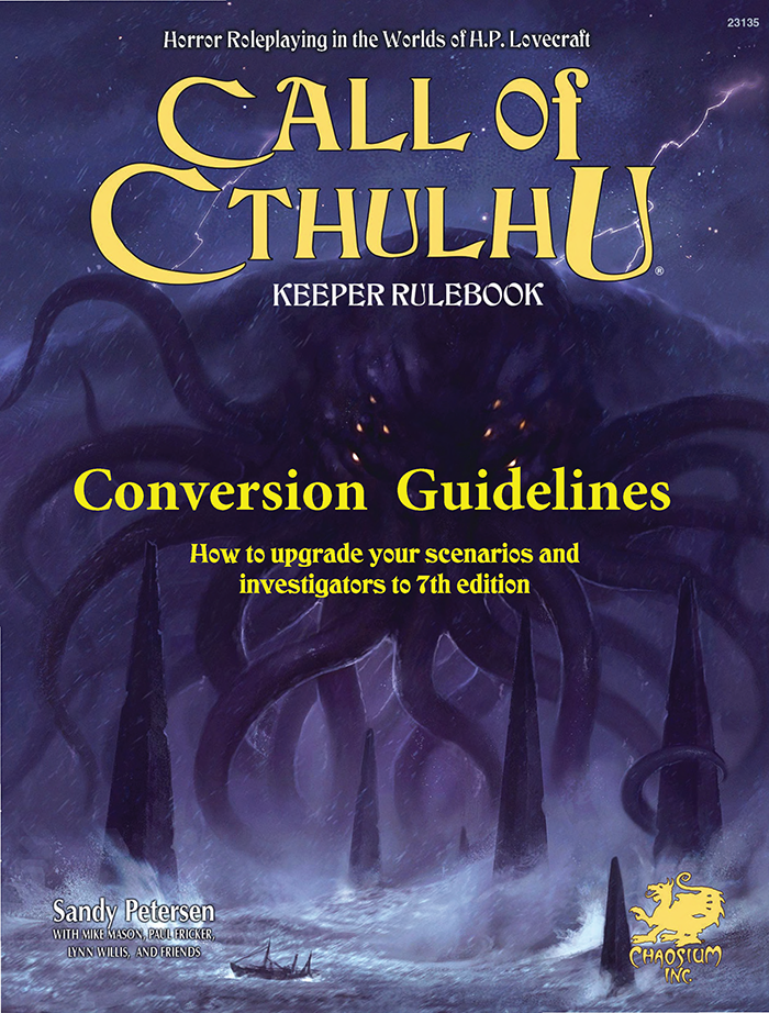 Call of Cthulhu Conversion Guide