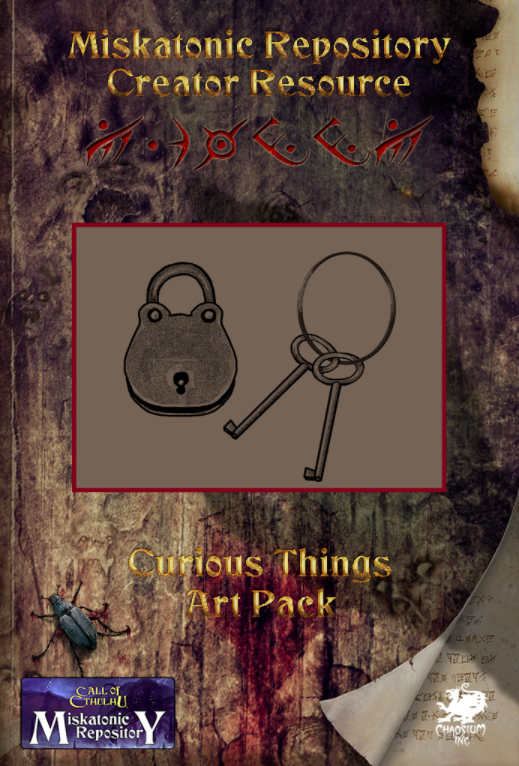 Miskatonic Repository - Curious Things Art Pack