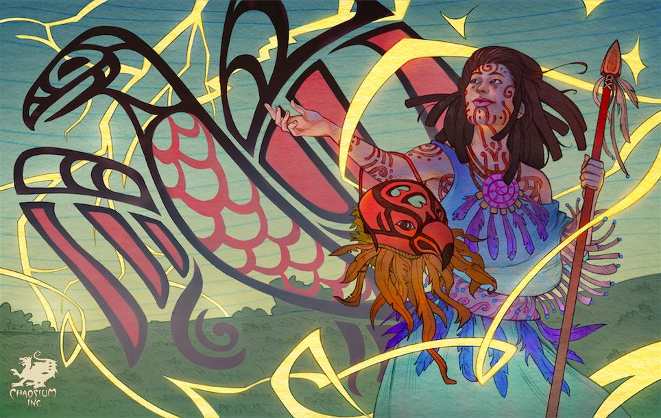 Eaglebrown Warlock by Michelle Lockamy