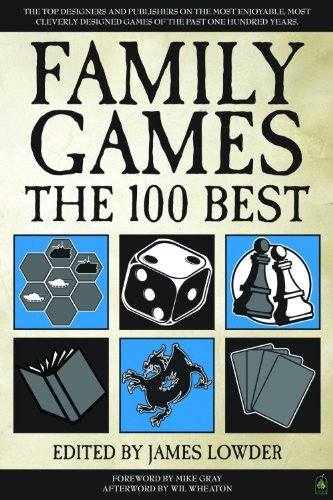 Family Games: The 100 Best - Front Cover