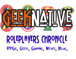 Geek Native and Roleplayers Chronicle Logos